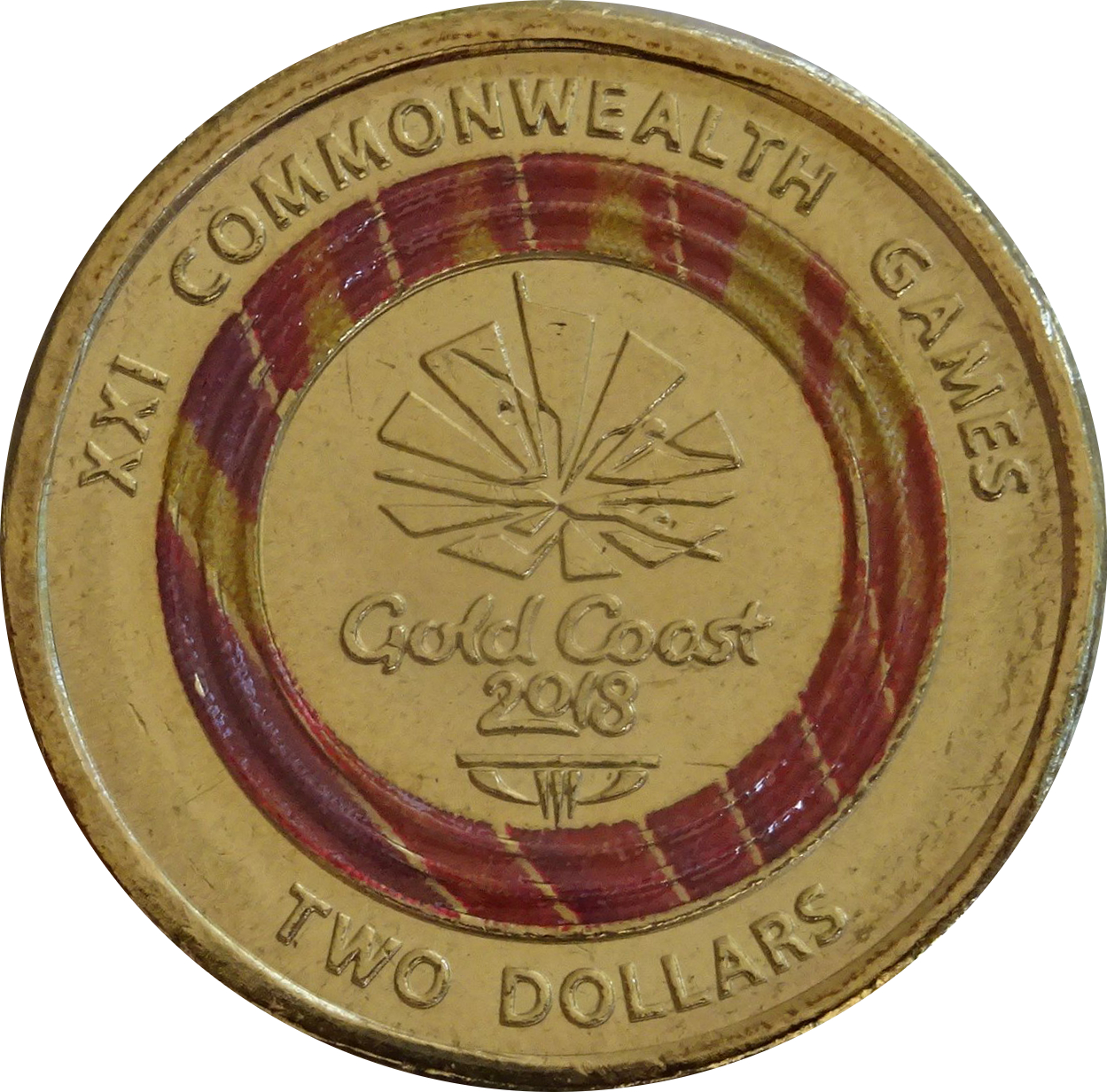 Rare $2 Dollar Coin  unc Commonwealth Games Limited Edition 2018 AUS