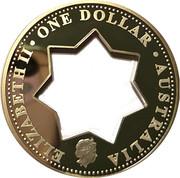 1 Dollar - Elizabeth II (Centenary of Federation) -  obverse