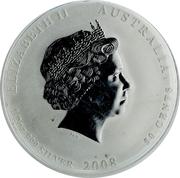 50 Cents - Elizabeth II (Lunar Year Series II) -  obverse