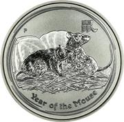 50 Cents - Elizabeth II (Lunar Year Series II) -  reverse