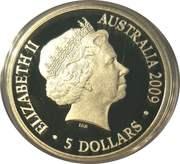 5 Dollars - Elizabeth II (Polar Series) -  obverse