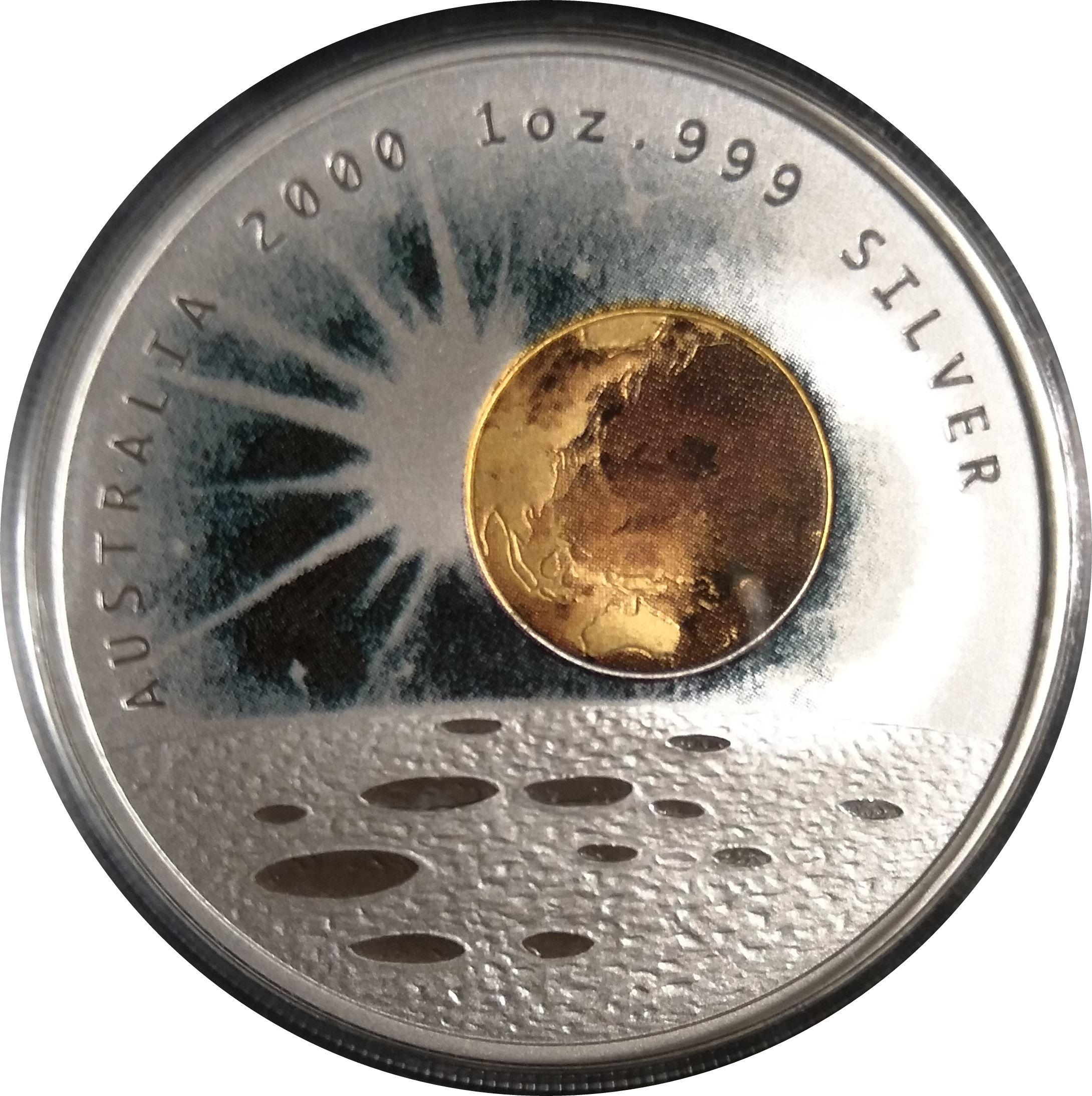1 Dollar Elizabeth Ii Millennium Australia Numista