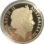 1 Dollar - Elizabeth II (Armistice Centenary 1918-2018) -  obverse