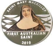 1 Dollar - Elizabeth II (SAINT MARY MACKILLOP) -  reverse