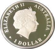 1 Dollar - Elizabeth II (SAINT MARY MACKILLOP) -  obverse
