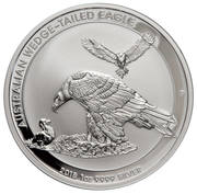 1 Dollar - Elizabeth II (Silver Bullion Coinage - Australian Wedge-Tailed Eagle) -  reverse