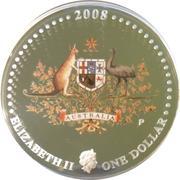 1 Dollar - Elizabeth II (Coat of Arms) -  obverse