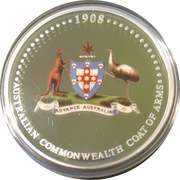 1 Dollar - Elizabeth II (Coat of Arms) -  reverse
