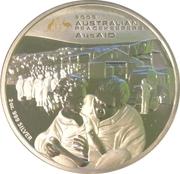 2 Dollars - Elizabeth II (4th Portrait - Australian Peacekeepers - AusAID) -  reverse