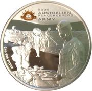 2 Dollars - Elizabeth II (Australian Peacekeepers - Army) -  reverse