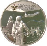 2 Dollars - Elizabeth II (4th Portrait - Australian Peacekeepers - Air Force) – reverse