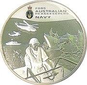 2 Dollars - Elizabeth II (4th Portrait - Australian Peacekeepers - Navy) – reverse
