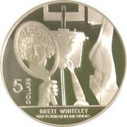 5 Dollars - Elizabeth II (Brett Whiteley) -  reverse