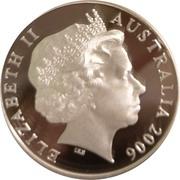 5 Dollars - Elizabeth II (Jeffrey Smart) -  obverse