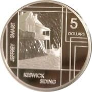 5 Dollars - Elizabeth II (Jeffrey Smart) -  reverse