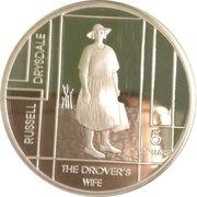 5 Dollars - Elizabeth II (Russell Drysdale) -  reverse
