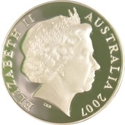 5 Dollars - Elizabeth II (Grace Cossington Smith) -  obverse