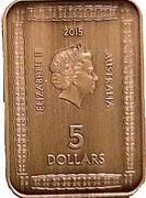5 Dollars - Elizabeth II (Magna Carta) -  obverse