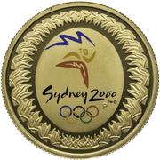 100 Dollars - Elizabeth II (Summer Olympics) -  reverse