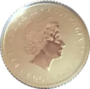 2 Dollars - Elizabeth II (Gold Bullion Coinage - Kangaroo) -  obverse