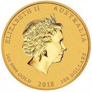100 Dollars - Elizabeth II (Dragon & Phoenix) -  obverse