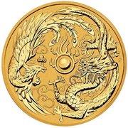 100 Dollars - Elizabeth II (Dragon & Phoenix) -  reverse
