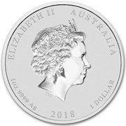 1 Dollar - Elizabeth II (4th Portrait - Dragon & Tiger) – obverse