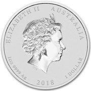 1 Dollar - Elizabeth II (Dragon & Tiger) -  obverse
