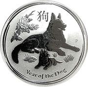 50 Cents - Elizabeth II (Year of the Dog) – reverse