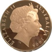 1 Dollar - Elizabeth II (New Parliament House) -  obverse