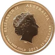 15 Dollars - Elizabeth II (Australia/American Memorial) -  obverse