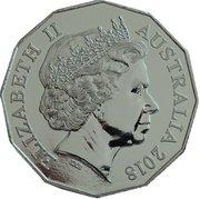 50 Cents - Elizabeth II (Coral & Balmoral) -  obverse