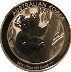 "10 Cents - Elizabeth II (""Koala"" Silver Bullion Coinage) – reverse"