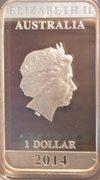 1 Dollar - Elizabeth II (Vintage Travel) -  obverse