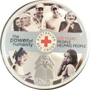 1 Dollar - Elizabeth II (Red Cross) – reverse