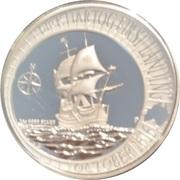 1 Dollar - Elizabeth II (Dirk Hartog Landing) -  reverse