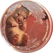 50 Cents - Elizabeth II (Bush Babies II - Wombat) -  reverse
