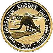 15 Dollars - Elizabeth II (Kangaroo) -  reverse