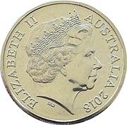 1 Dollar - Elizabeth II (4th Portrait - Sir John Monash) -  obverse