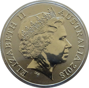 1 Dollar - Elizabeth II (The Magic Pudding) -  obverse