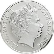 1 Dollar - Elizabeth II (Saltwater Crocodile - Graham) -  obverse