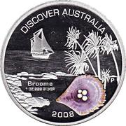 1 Dollar - Elizabeth II (4th Portrait - Discover Australia - Broome) – reverse