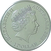 1 Dollar - Elizabeth II (XXI Commonwealth Games - A Legacy of Reconciliation) – obverse
