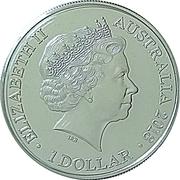 1 Dollar - Elizabeth II (XXI Commonwealth Games - A Legacy of Reconciliation) -  obverse