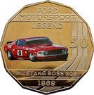 50 Cents - Elizabeth II (Ford High Octane - 1969 Mustang Boss 302 Trans-Am) – reverse
