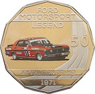 50 Cents - Elizabeth II (Ford High Octane - 1971 XY Falcon GT-HO Phase III) – reverse
