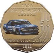 50 Cents - Elizabeth II (Ford High Octane - 1981 XD Falcon Tru-Blu) -  reverse