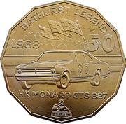 50 Cents - Elizabeth II (Holden High Octane - 1968 HK Monaro GTS 327) -  reverse