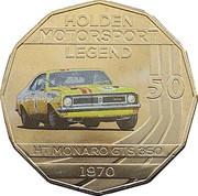 50 Cents - Elizabeth II (Holden High Octane - 1970 HT Monaro GTS 350) -  reverse