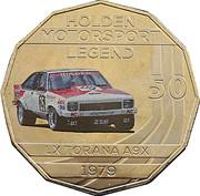50 Cents - Elizabeth II (Holden High Octane - 1979 LX Torana A9X) -  reverse